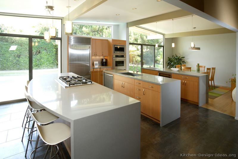 Modern Kitchen Designs - Gallery of Pictures and Ideas