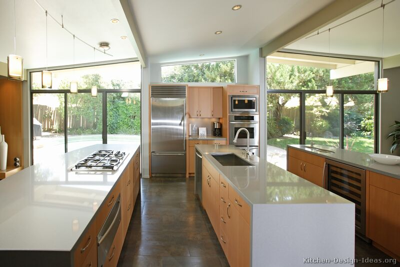 Pictures Of Kitchens Modern Light Wood Kitchen Cabinets Kitchen 9