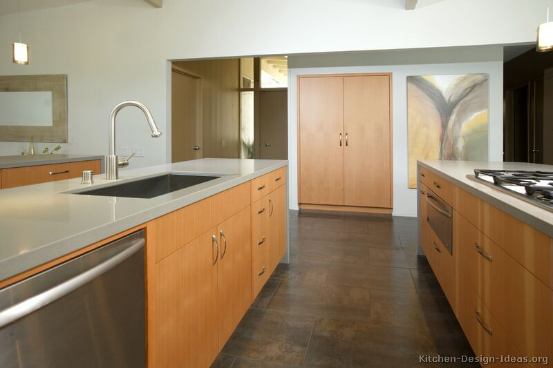 Of Kitchens Modern Light Wood Kitchen Cabinets Kitchen 9