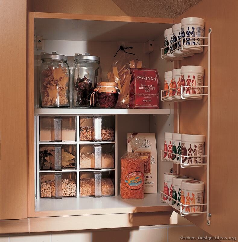 Kitchen Cabinet Spice Storage Kitchen Cabinet Storage Ideas To Keep Your Kitchen Small Appliances