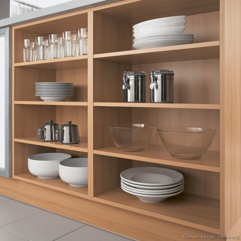 04 modern light wood kitchen - Modern Wood Kitchen Cabinets