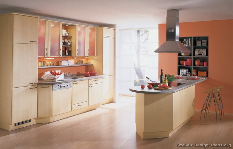 Pale Orange Kitchen pale orange kitchen design home design ideas regarding pale orange