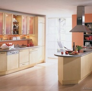 Modern Light Wood Kitchen