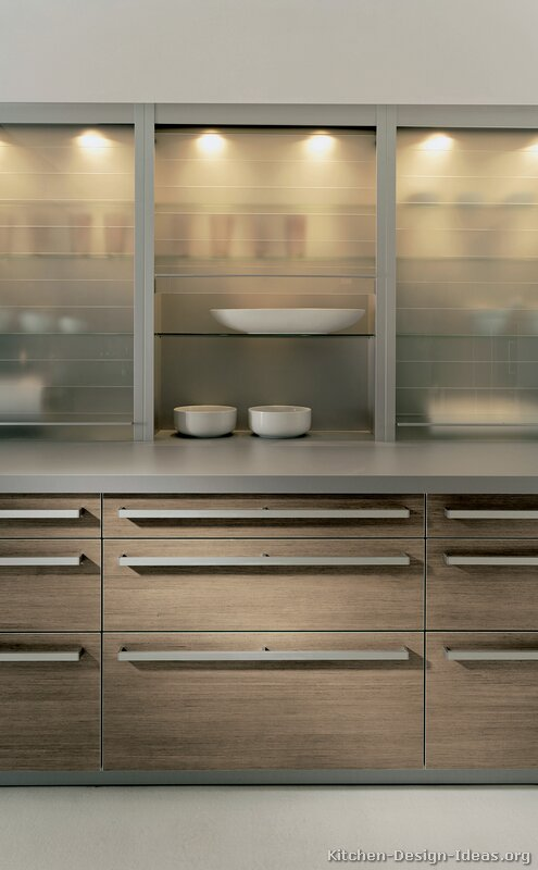of Kitchens  Modern  Light Wood Kitchen Cabinets (Kitchen #26