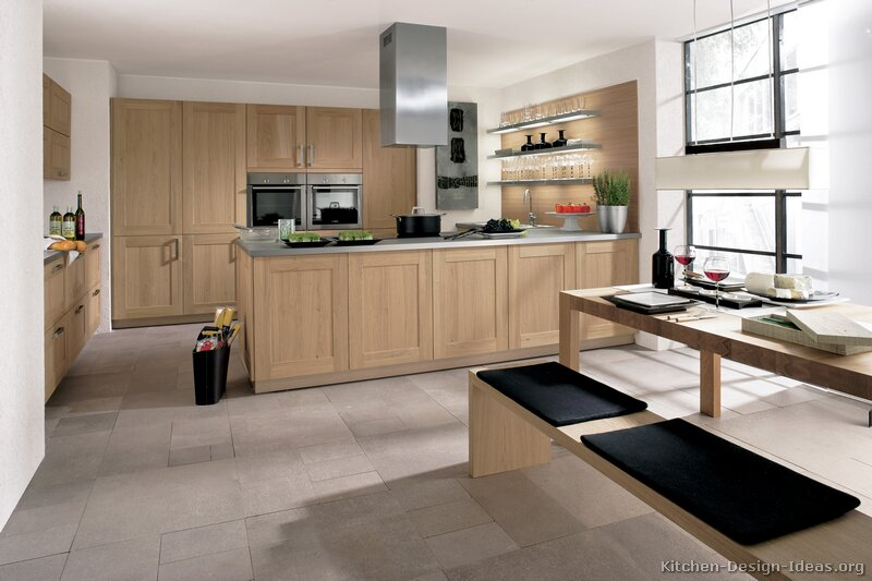 Pictures Of Kitchens Modern Light Wood Kitchen Cabinets Kitchen 28