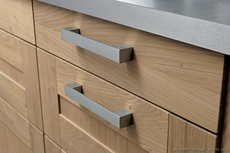 Pictures of kitchens modern light wood kitchen - Facade de porte cuisine ...