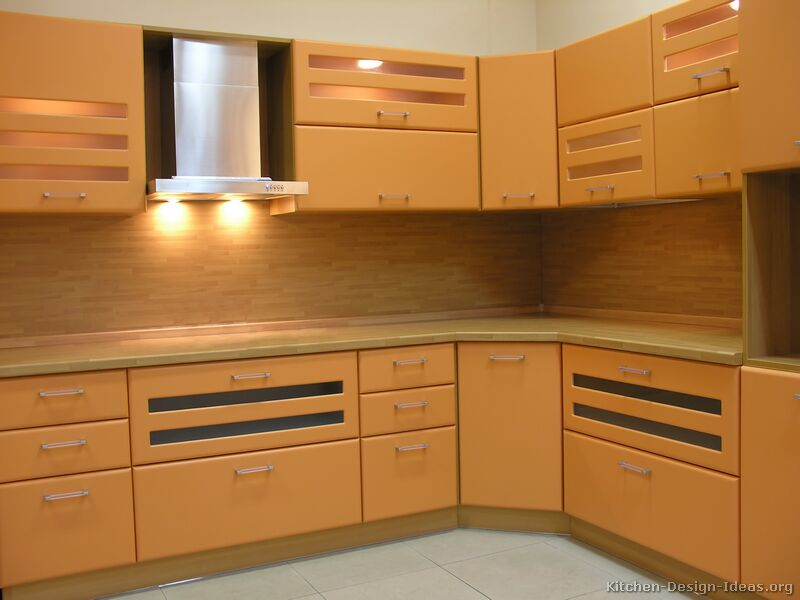 Modern Wood Kitchen Cabinets ~ Pictures of kitchens modern light wood kitchen