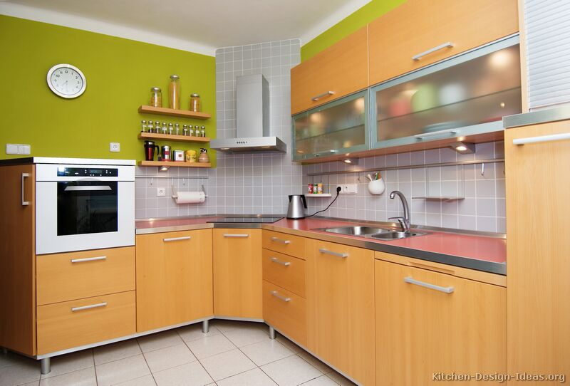 Pictures Of Kitchens   Modern   Light Wood Kitchen Cabinets (Page 2)
