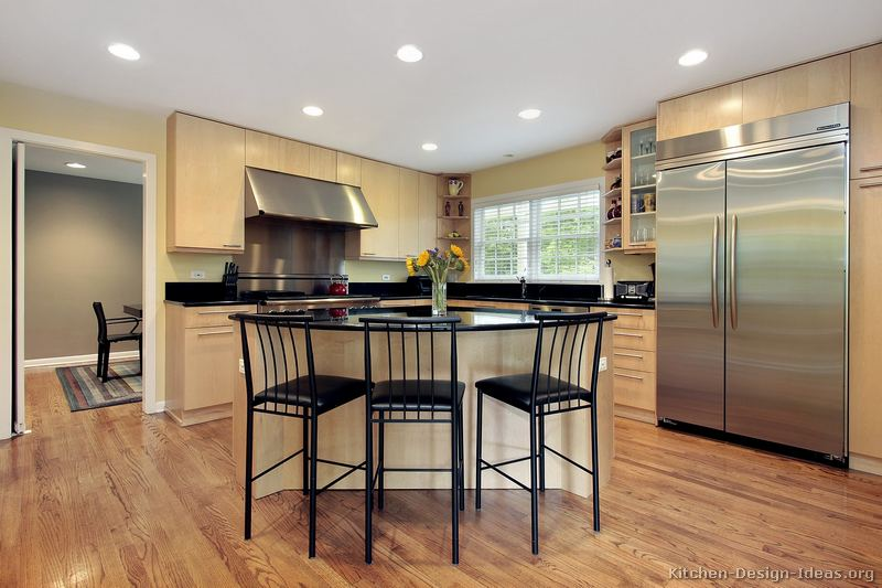 61 Modern Light Wood Kitchen