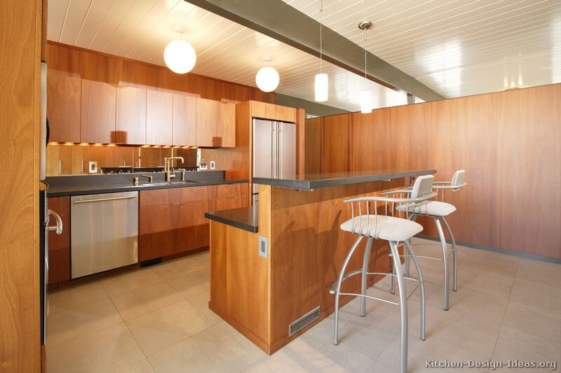 Marvelous 01, Modern Medium Wood Kitchen