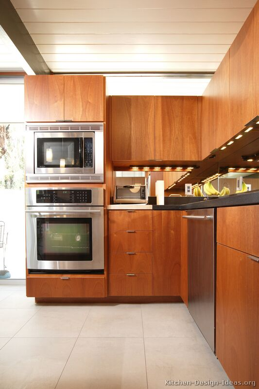 Pictures of kitchens modern medium wood kitchen for Kitchen pictures