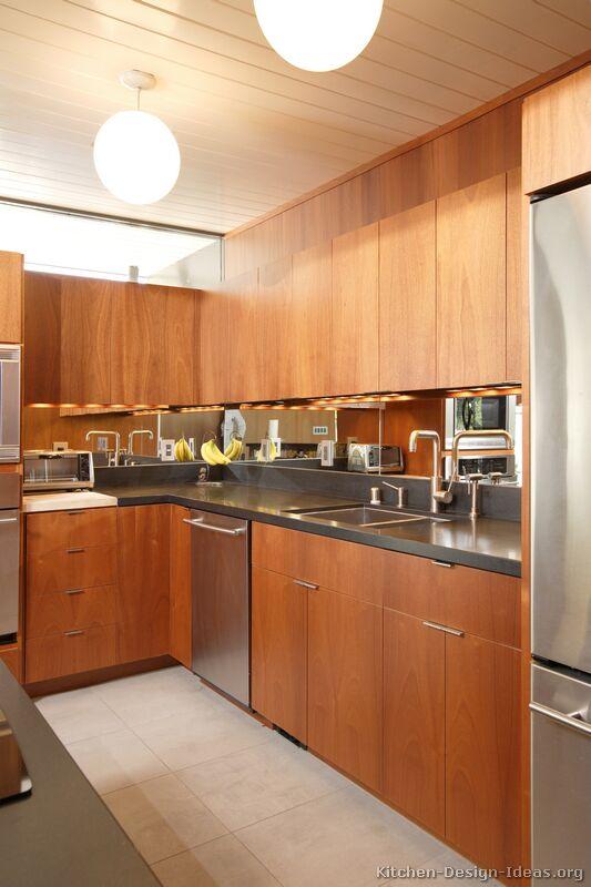 Lmedium Kitchen Design Ideas ~ Pictures of kitchens modern medium wood kitchen