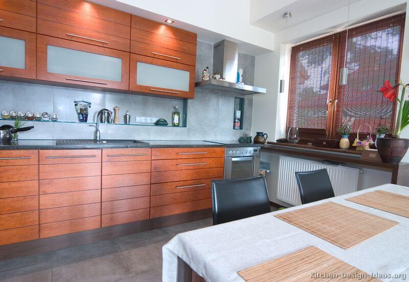 Pictures Of Kitchens Modern Medium Wood Kitchen
