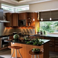 Modern Medium Wood Kitchens