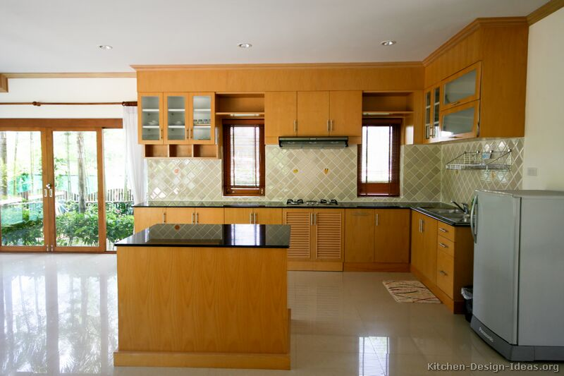 Brand new Pictures of Kitchens - Modern - Medium Wood Kitchen Cabinets (Page 2) TX87