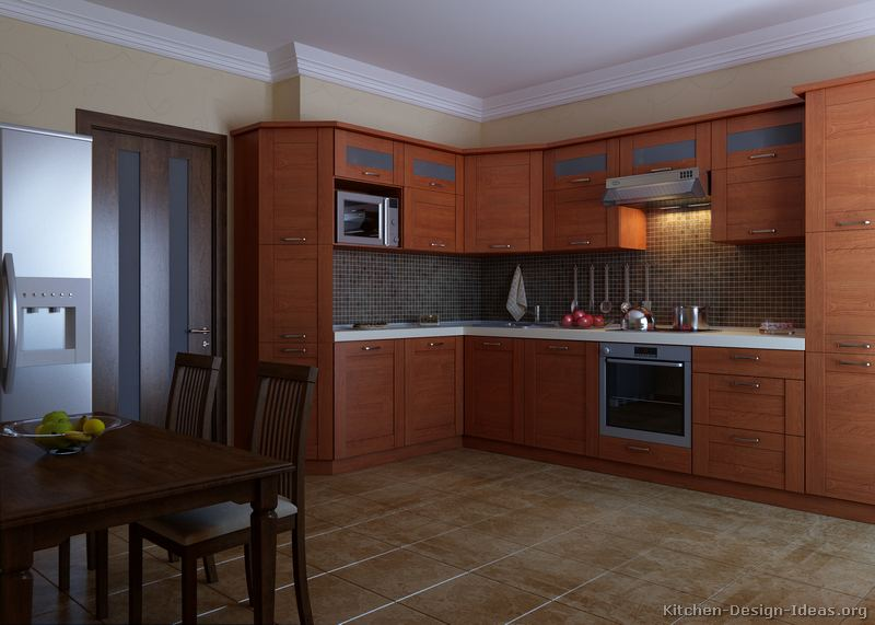 Attractive European Kitchen Cabinets Pictures Gallery