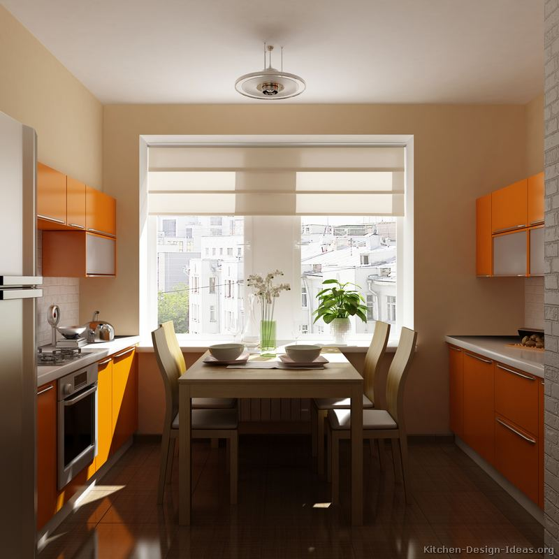 Pictures of Modern Orange Kitchens - Design Gallery