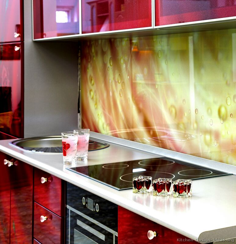 Kitchen Glass Backsplash Pictures kitchen backsplash ideas - materials, designs, and pictures