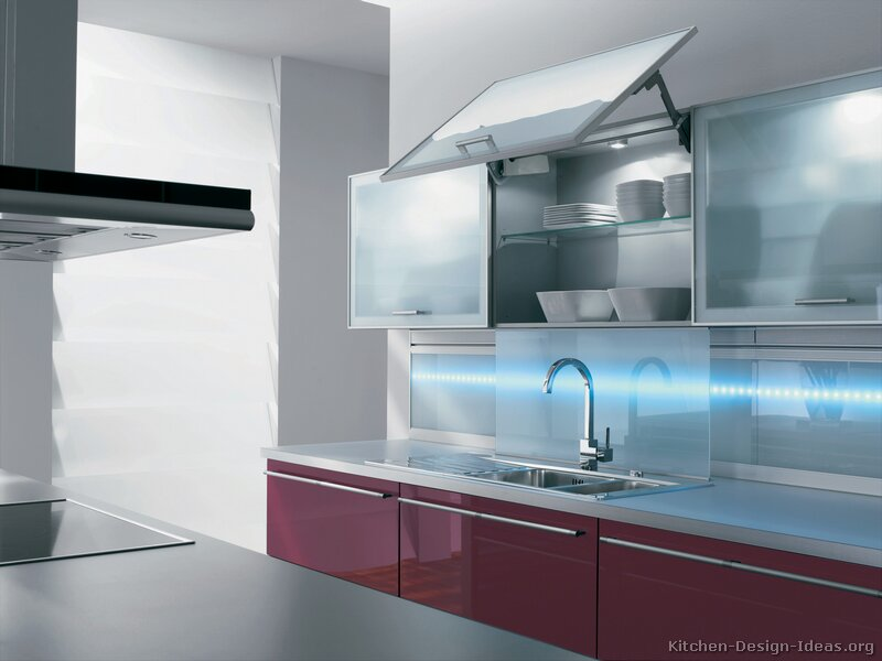 Modern Kitchen Cabinets With Glass Doors Part 10