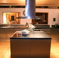 Modern Stainless Steel Kitchens