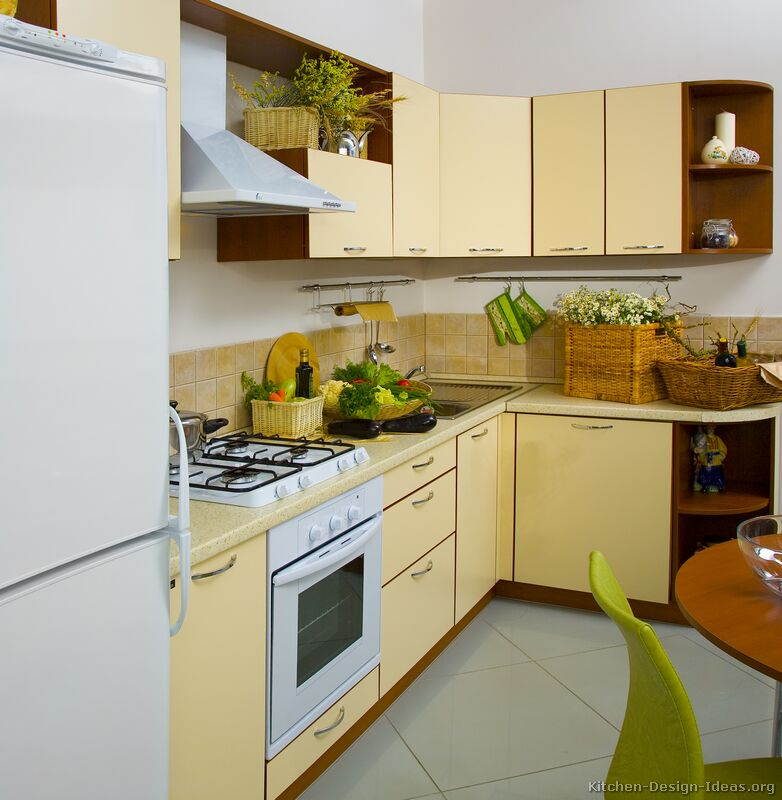 Yellow Kitchen Art: Pictures Of Modern Yellow Kitchens