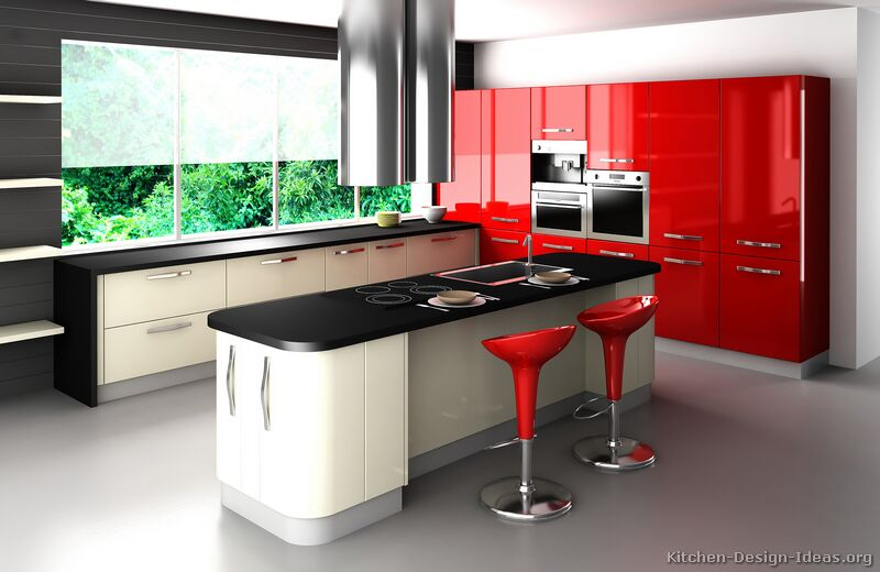 retro kitchen designs  pictures and ideas, Kitchen