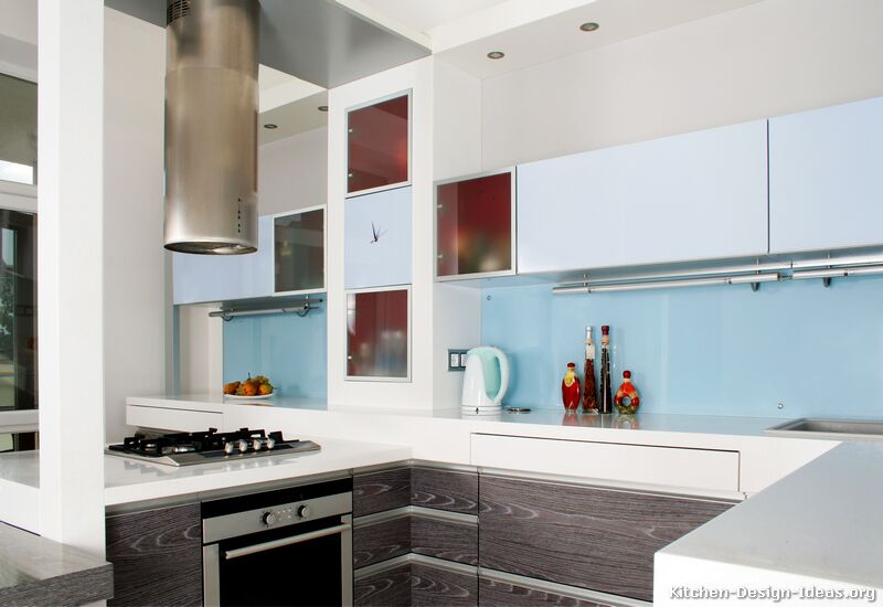 Of kitchens modern two tone kitchen cabinets kitchen 23