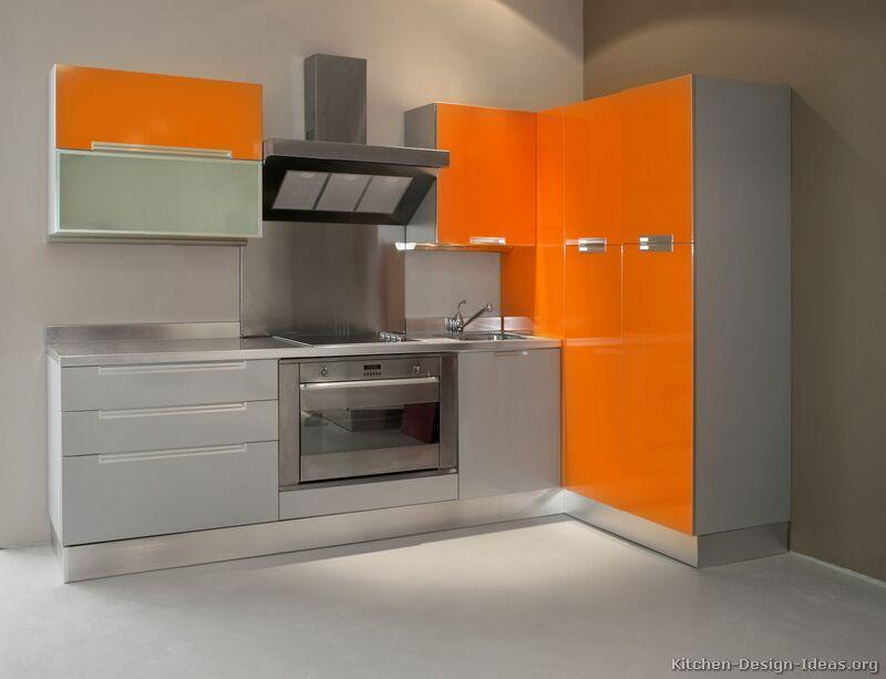 of Kitchens  Modern  Two Tone Kitchen Cabinets (Kitchen #27