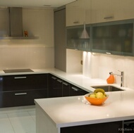 Modern Two-Tone Kitchen