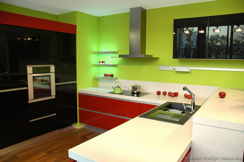 TT38 [+] More Pictures · Modern Red Kitchen