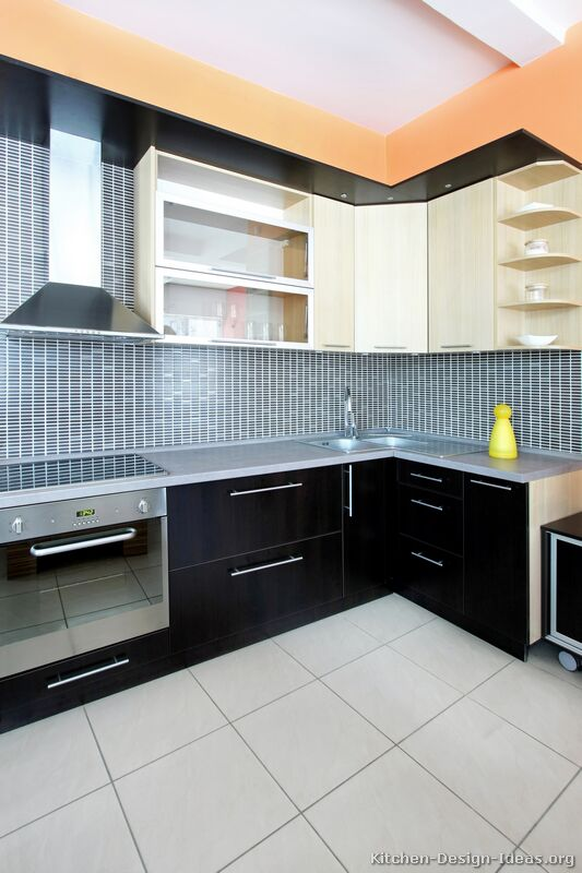 Pictures Of Kitchens Modern Black Kitchen Cabinets Page 2