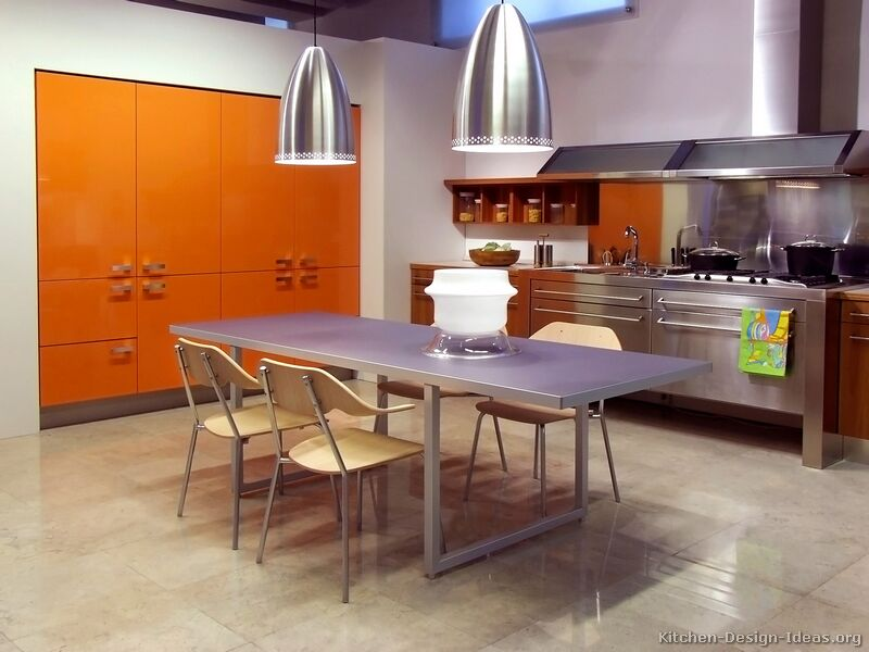 Pictures of modern orange kitchens design gallery tt116 modern orange kitchen workwithnaturefo