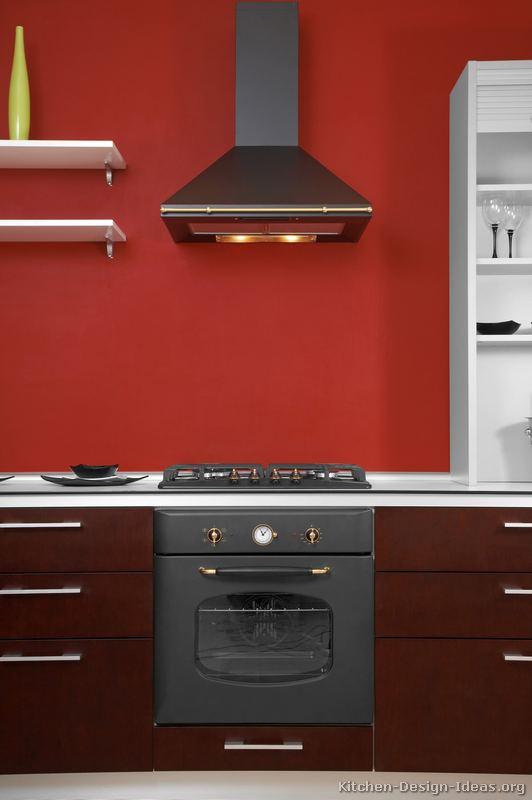 of Kitchens  Modern  Two Tone Kitchen Cabinets (Kitchen #134