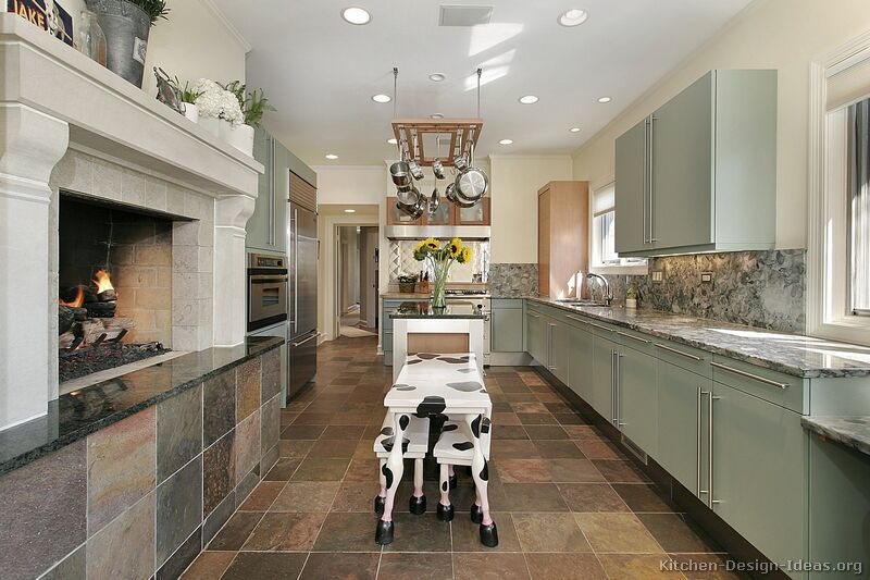 Country kitchen design pictures and decorating ideas for Modern country kitchen designs