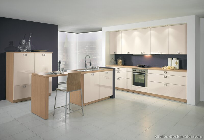 Modern Two Tone Kitchen 151 [+] More Pictures ...
