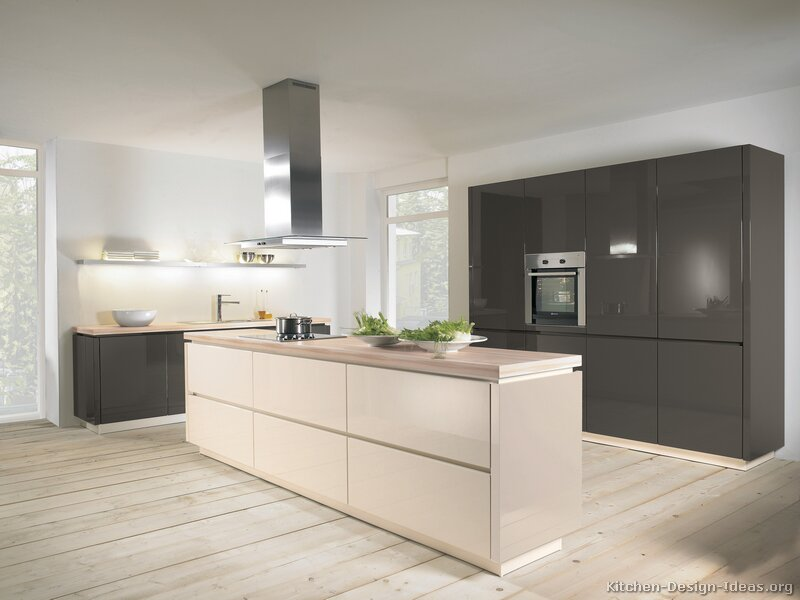 Pictures Of Kitchens Modern Two Tone Kitchen Cabinets Kitchen 155