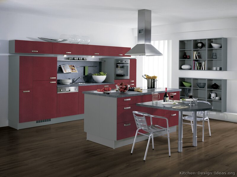 European kitchen cabinets pictures and design ideas for Kitchen photos