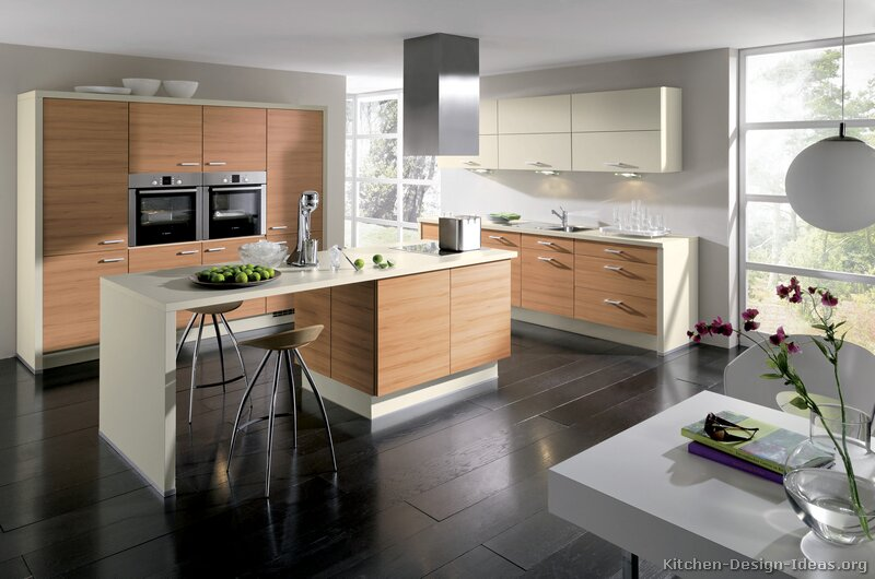 Pictures of kitchens modern light wood kitchen for Cuisine image