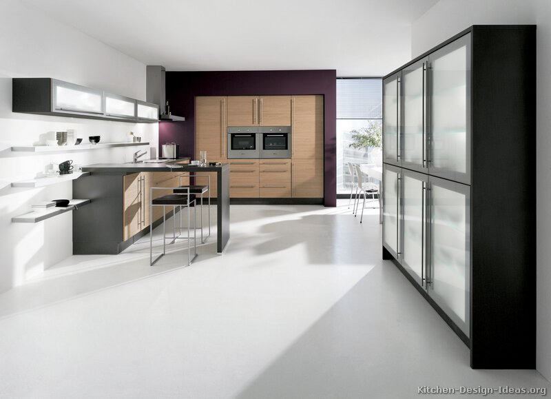 Modern Two Tone Kitchen