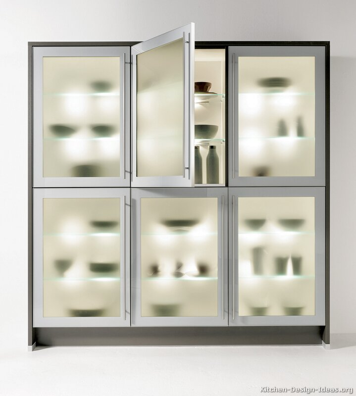 Modern Glass Kitchen Cabinet Crowdbuild For