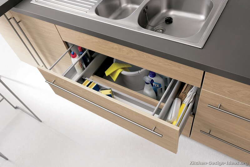 Kitchen Sink Cabinet Drawer