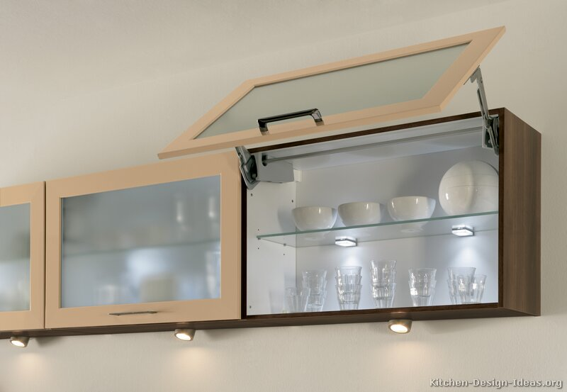 Brilliant Glass Designs For Kitchen Cabinet Doors Intended Design