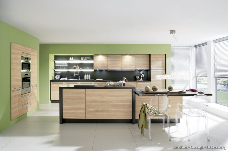 pictures of kitchens - modern - light wood kitchen cabinets (page 3)