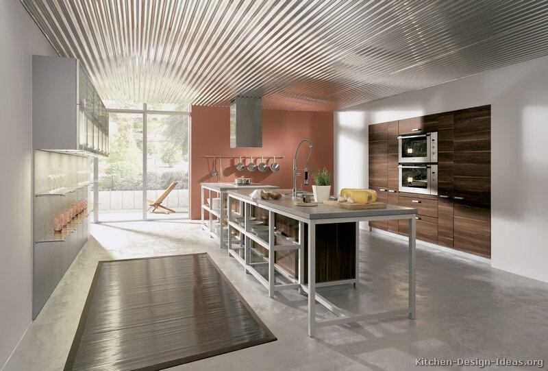 Tt194 More Pictures Modern Dark Wood Kitchen