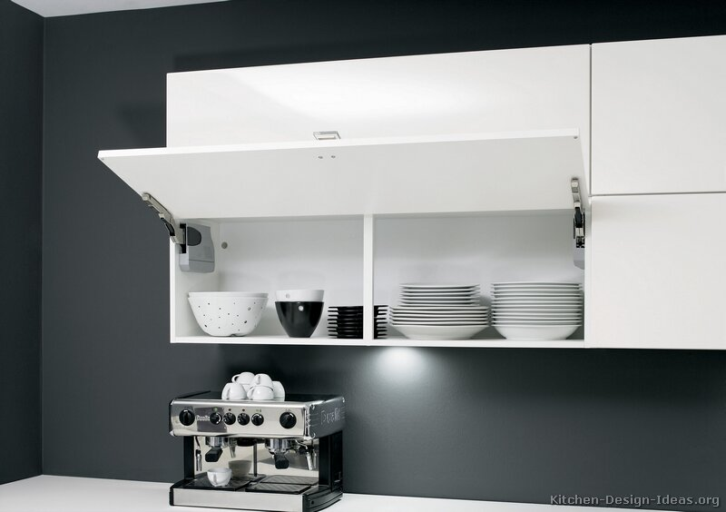 Pictures of kitchens modern two tone kitchen cabinets kitchen 213 Kitchen designs with grey walls