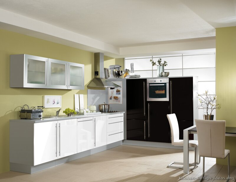Pictures of Kitchens  Modern  Black Kitchen Cabinets (Page 2)