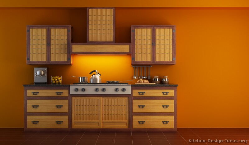 Asian kitchen layout home design and decor reviews for Japanese kitchen designs