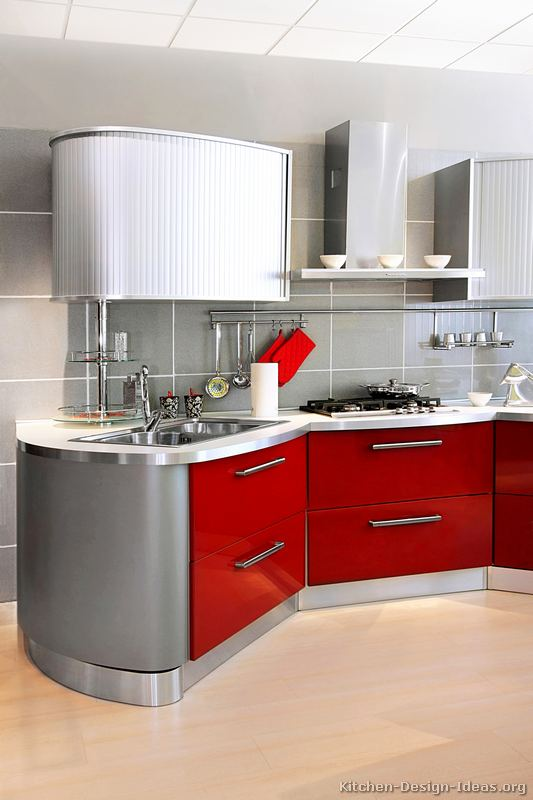 Pictures Of Kitchens Modern Two Tone Kitchen Cabinets Kitchen 243