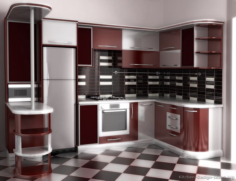 Pictures of kitchens modern two tone kitchen cabinets page 9 Kitchen design price list