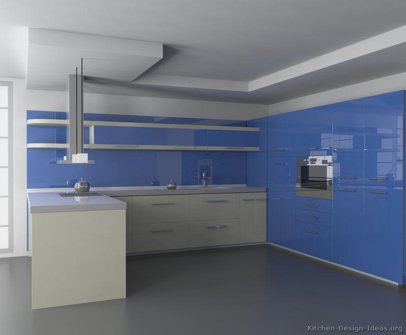 Nevy Blue Kitchen